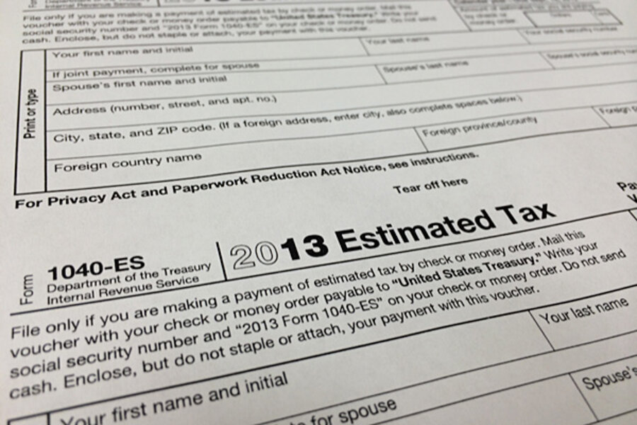 Irs New Tax Filing Changes For 2014 Csmonitor