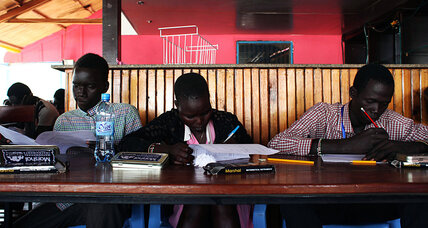 S. Sudan: For some students, war no excuse to miss finals