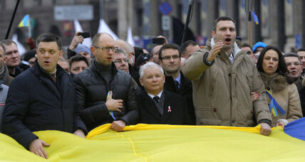 Just who is Ukraine's opposition?
