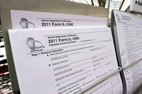 Tax Filing Six Reasons To File Online Csmonitor
