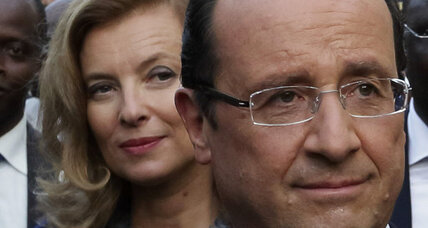 Hollande confirms split with long-time girlfriend