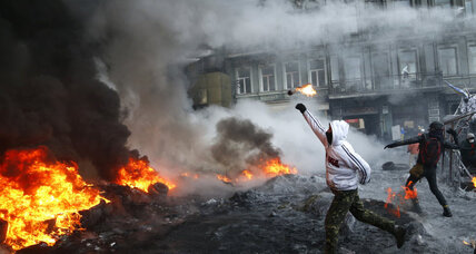 Kiev protesters said to have captured two police officers