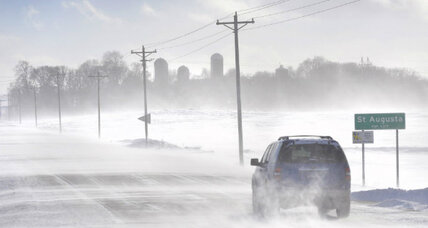 Polar vortex: Frigid Arctic air again grips Midwest, nears record cold (+video)