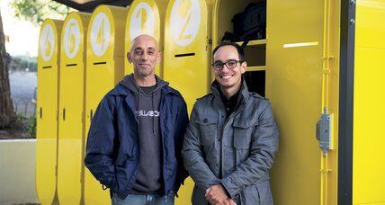 Duarte Paiva helps the homeless by designing lockers to house their things