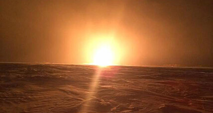 Pipeline explosion leaves thousands in Canada without heat (+video)