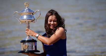 Chinese tennis ace wins Australian Open. Why didn't she thank China?