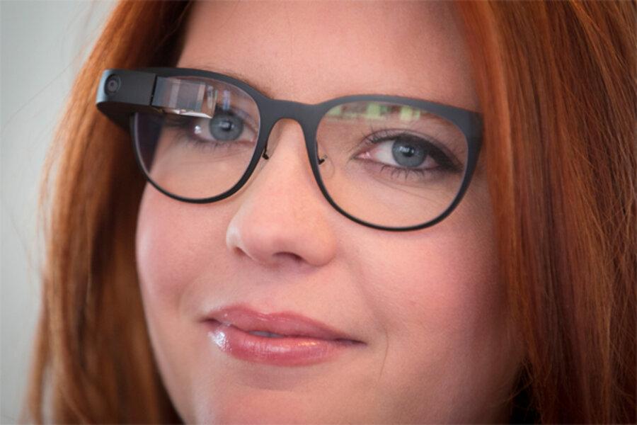 e2ac6e10f0 Google Glass adds prescription lenses and stylish frames - CSMonitor.com