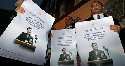 Egypt says charging Al Jazeera journalists with terrorism