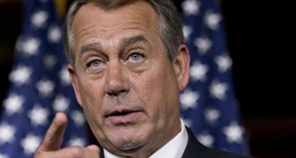 Boehner pitches immigration reform at GOP retreat, but not many takers