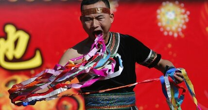 Fireworks and red underwear: Chinese saddle up for the Year of the Horse