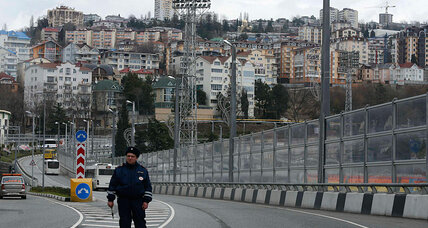 Sochi terror threat: US concerns focus on region outside 'ring of steel' (+video)
