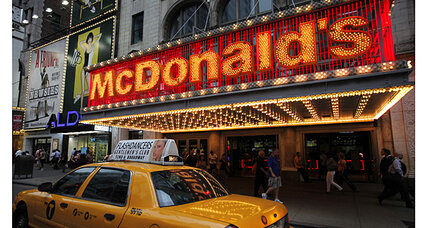 McDonald's spent more than $988 million on advertising in 2013
