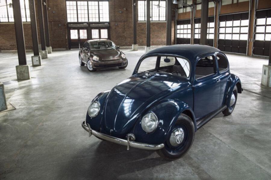 Volkswagen Of America >> Volkswagen Beetle Hits 65 Years In America Csmonitor Com