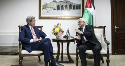 Israeli-Palestinian peace talks: Is Kerry offering up US troops?