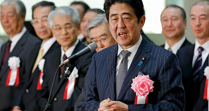 'Japan is back.' Can Shinzo Abe stay the course?