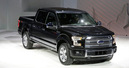 2015 Ford F-150 makes its Detroit Auto Show debut
