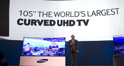 For Samsung, the future of TV is all in the curve