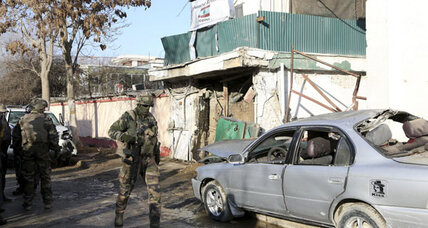 Deadly blast in Kabul targets expatriate cafe