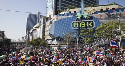 Bangkok shutdown: Thai government keeps cool as protesters shut down Bangkok