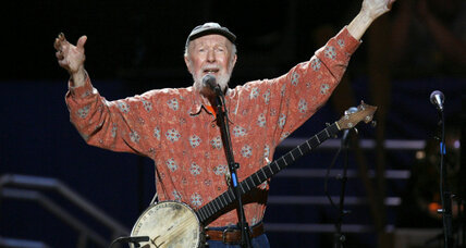 Pete Seeger: How can I keep from singing?