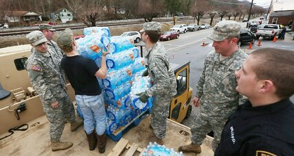 West Virginia chemical spill: More days to come without water