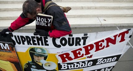 Keep your distance: Supreme Court takes up protesters outside abortion clinics (+video)