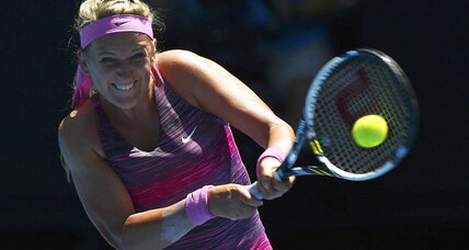 Victoria Azarenka wins first game at Australian Open in 100+ weather