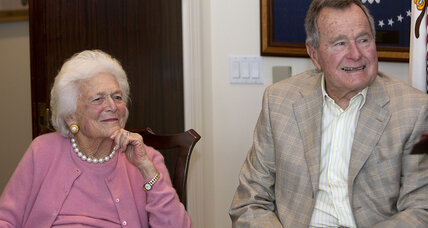 Barbara Bush 'responding well' in Texas hospital