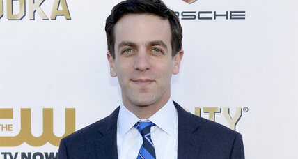 B.J. Novak's children's book will try to win kids over to the power of language