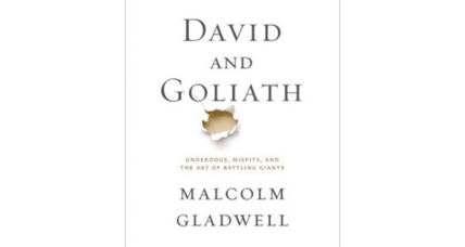 Malcolm Gladwell as punishment? Judge orders woman to read 'David and Goliath'