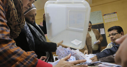 What does Egypt's 'yes' vote in the constitutional referendum mean?