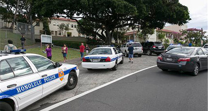 Hawaii school shooting: Cop shoots teen who assaulted three officers
