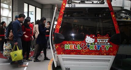 Meow! Hello Kitty, the cat superstar who predates YouTube, turns 40
