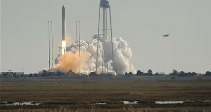 Wallops Island launch: Cargo ship with gifts and ants heads to space station