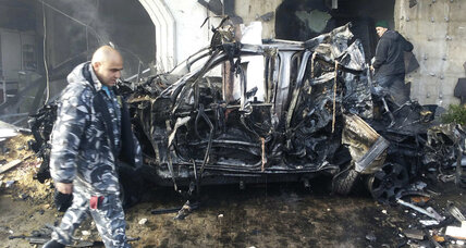 At least three dead in Lebanon car bombing