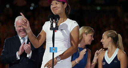 Li Na, oldest Australian Open champ, says 'age is nothing.'