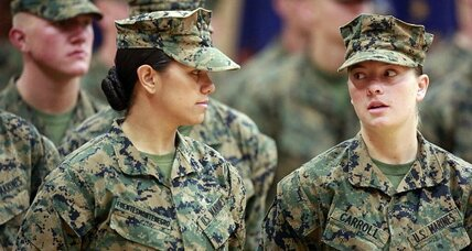 Just three pull-ups: Too many for women in the Marine Corps?