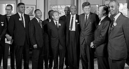 Martin Luther King Jr. and John F. Kennedy: civil rights' wary allies