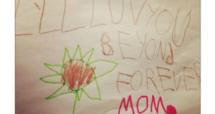 Jennifer Lopez, cherish your son's love note when he is a teen