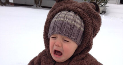 My kid hates the snow