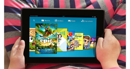 Kindle FreeTime: Parental controls and kid-friendly content