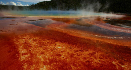 Supervolcano blowing smoke? Young scientist says so.