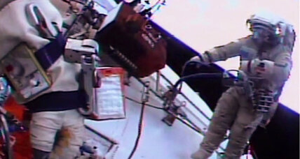 Say cheese! Space station cameras now looking at us in high-def. (+video)