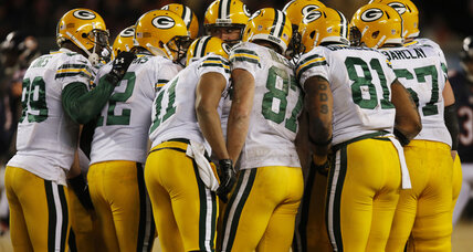 Green Bay Packers face 49ers in cold NFL playoff game