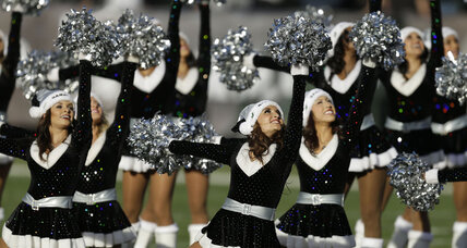 Touchdown Raiderettes? Cheerleaders reach deal with Oakland on wages.