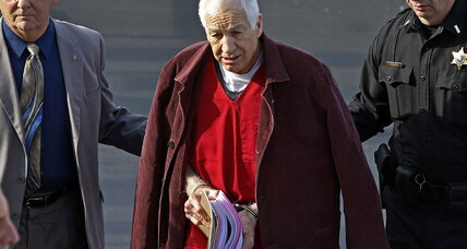 Penn State coach Sandusky sues for pension despite sex abuse convictions