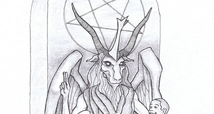 Satan statue design for Oklahoma state capital unveiled