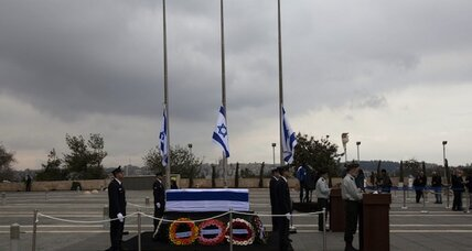 Israelis pay last respects to Sharon as Biden expected at funeral service