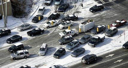 Atlanta descends into complete gridlock after 3 inches of snow (+video)