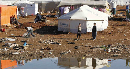 More signs of urban poverty in Jordan as Syrian refugees flood in